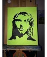 "KURT COBAIN Pop Art PAINTING - New Original 8"" X 10"" - Nirvana - $37.95"