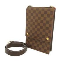 LOUIS VUITTON Portbello Damier Canvas Ebene N45271 LV Shoulder Bag France - $485.80
