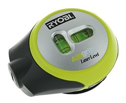Ryobi ELL1002 Air Grip Compact Laser Level with Tripod Mounting and Corner Round