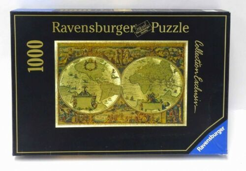 Ravensburger Puzzle 1000 Collection Exclusiv Historical World Map 16002 NEW NIB