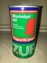 7 UP UNCLE SAM CAN 1976, MISSISSIPPI, AIR FILLED NEVER OPENED!! - $14.99