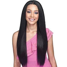 """Fine Plus Straight Hair Lace Frontal Wigs for Black Women 26"""" Straight Long Blac"""