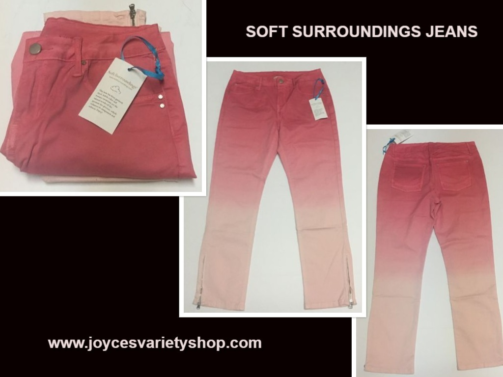Soft surroundings jeans web collage