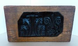 Industrial Gesso Wooden Mold Decorative Collectible Plaque Circa.1900-20's - $165.00
