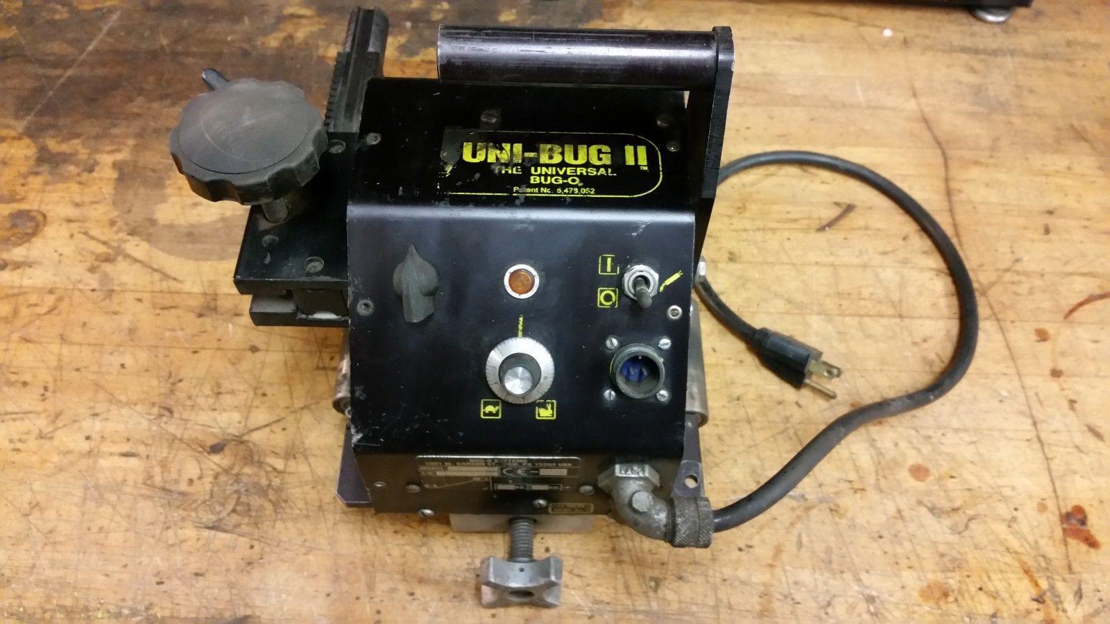 Bug-o Uni-Bug II mig welding track tractor motorized torch carrier robot
