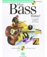Hal Leonard Play Bass Today! - Level 1 (Book/Online Audio) - $9.79