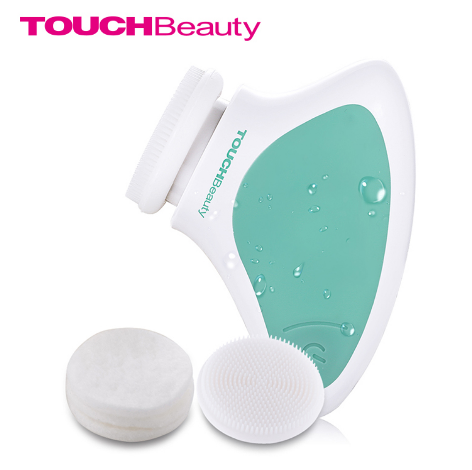TOUCHBeauty® Portable Face Washing Brush Sonic Vibration Facial Cleansing Brush