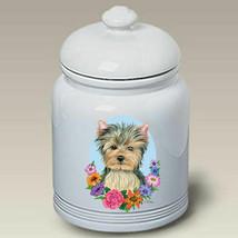 Yorkie Puppy Cut Treat Jar - $44.95