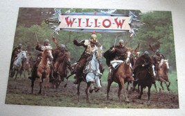 1988 Willow Movie Mini Poster's Kraft Giveaway Ron Howard Val Kilmer Mid... - $39.11