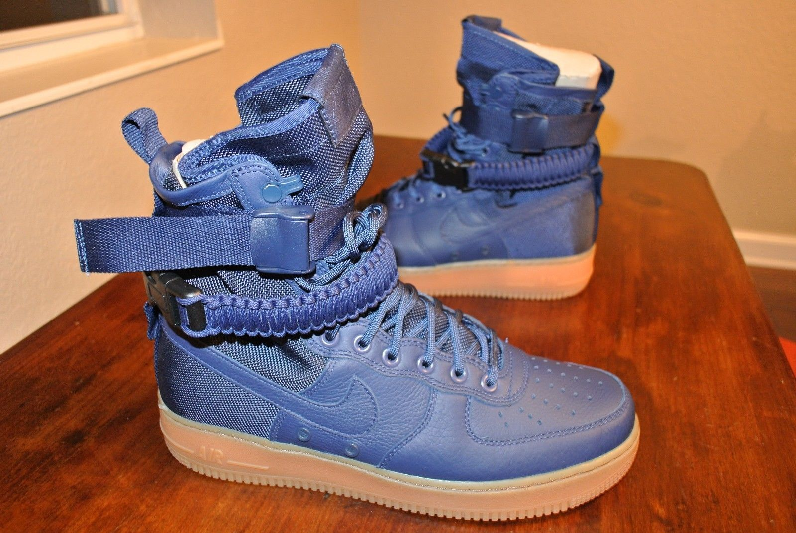 new product 57d9a 5c1bf 57. 57. Previous. NIKE SF AF1 MIDNIGHT NAVY SPECIAL FIELD 864024 400 US  MENS SHOE SIZE 9