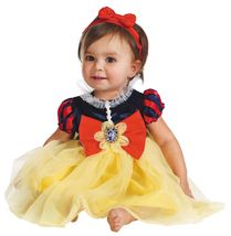 Snow White , Infant Costume , 6 to 12 MONTHS , Free Shipping - $40.00