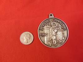 1997, Solid Pewter, Pulaski Furniture Corp. Christmas Ornament.   - $5.99