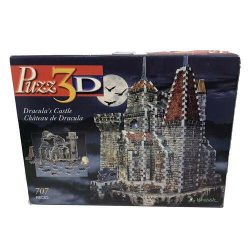 Puzz3D DRACULA'S CASTLE Wrebbit PUZZ 3D Puzzle 707 Pieces - $129.99