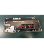 New 1/64 Case IH Equipment Hauling Set with 7240 Magnums - $35.99