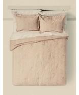 Threshold King Comforter Set Two Shams Pink medallion patterns - $78.21
