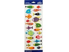 EK Success Brands Sticko Puffy Fish Stickers, 22 Pieces #52-38226