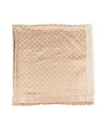 Louis Vuitton Monogram Silk Wool Shawl - $340.00