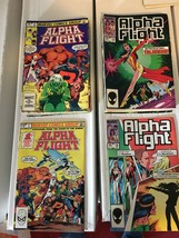 Alpha Flight #1-34 Marvel Comic Book Run / Lot NM Condition High End X-M... - $63.69