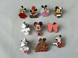 Disney Trading Pins Official Minnie Mouse Collectible Lot of 10 - $23.24