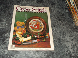 Cross Stitch & Country Craft Magazine November/December 1987 Ornaments - $0.99
