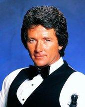 Patrick Duffy Superb Studio Pose In Tuxedo Waistcoat Dallas Era 1980's 16x20 Can - $69.99