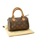 LOUIS VUITTON Monogram Mini Speedy Hand Bag M41534 LV Auth sa2043 - $640.00