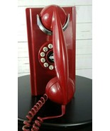 Crosley CR55 Push Button Wall Phone - Red  - $35.99