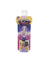 HATCHIMALS Mini Pixies Mystery DOLL 2 PACK JUMBO WINGS Firefly Butterfly... - $10.40