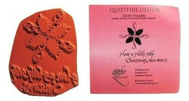 QUIETFIRE DESIGN Have a Holly Jolly Christmas Stamp Set, #5912
