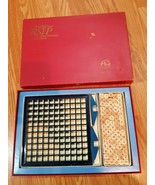 Three dimensional scrabble Vintage 1966 1970 Scrabble brand RSVP crosswo... - $19.79