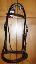 Bobby's F/S Dark Brown Padded Non-Flash Bridle (Minus Reins) - $85.00