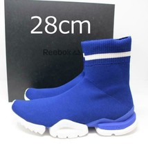 Men 10Us Reebok Sockrun R Blue 28 Cm - $220.99