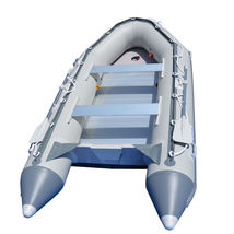 BRIS 12.5ft Inflatable Boat Inflatable Dinghy Rescue & Dive Raft Fishing Boat    image 1