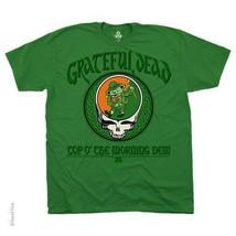 GRATEFUL DEAD MORNING DEW IRISH LEPRECON ROCK MUSIC GREEN MENS T SHIRT M... - ₹1,420.74 INR+