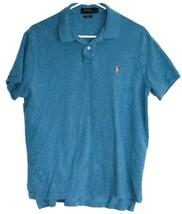 Polo Ralph Lauren Men's Custom Fit Collared Short Sleeve Shirt Size L
