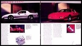 1991 Pontiac Firebird Brochure, Formula, Trans AM, GTA - $8.97