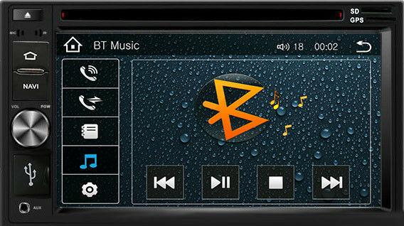 DVD GPS Navigation In Dash Radio and Dash Kit for Kia Sportage 2011-16 Grey image 4