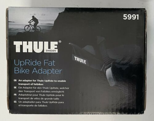 """Thule Fat Bike Adapter Cradle 5991 for Thule UpRide 3-5"""" Roof Carrier NEW in Box"""