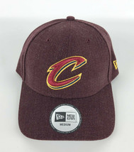 Cleveland Cavaliers Baseball Hat New Era 49Forty Heather Red Logo Crisp ... - $24.74