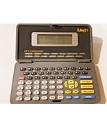 Lingo 14 Multi-Language Eurasian Translator Handheld Pocket Databank Calc - $19.79
