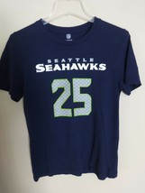 NFL Seattle Seahawks Richard Sherman # 25 Football Jersey T-Shirt Youth L 14/16 - $22.18
