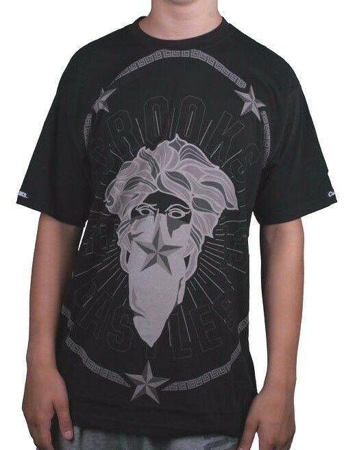 Crooks & Castles Homme Noir Thuxury Bandito Méduse T-Shirt I1360707 Nwt
