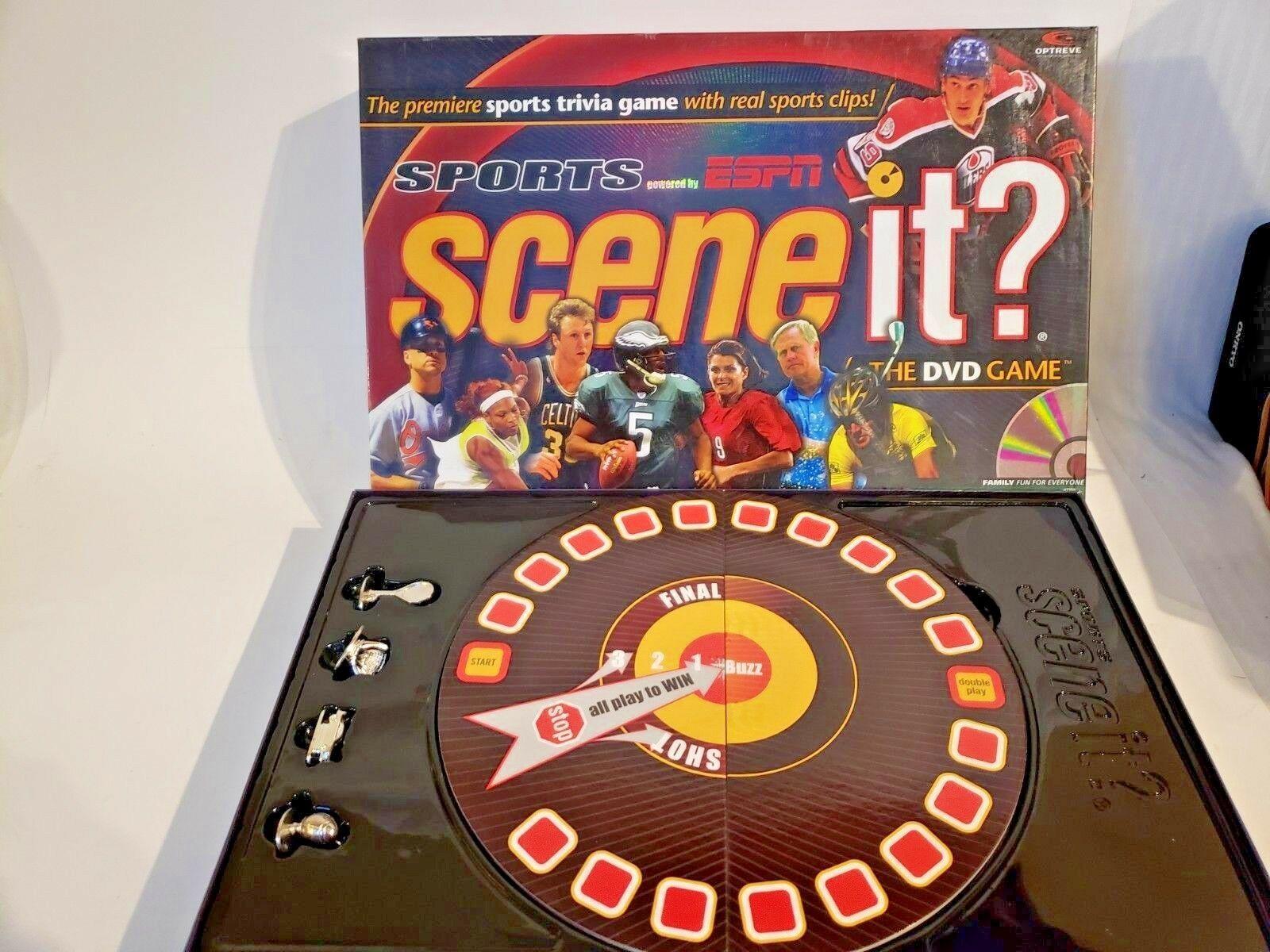 Scene It Sports Edition  (DVD / HD Video Game)