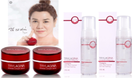 2 Sets Anti-Aging Wrinkle Firming TRYLAGINA Collagen Lifting Serum 10x &... - $229.00