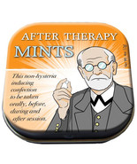 Freud After Therapy Mints in Illustrated Tin Box .4 ounces NEW SEALED - $3.99