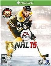 NHL 15 (Microsoft Xbox One, 2014) Hockey Video Game - $14.88