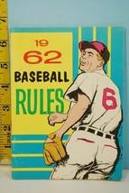 NFHS 1962 Baseball Rules & Handbook National Alliance Ed. High School Co... - $9.99