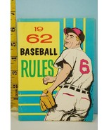 NFHS 1962 Baseball Rules & Handbook National Alliance Ed. High School Co... - $9.99