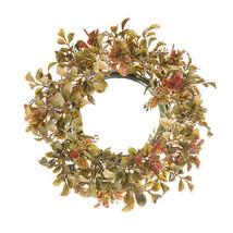 Darice Aglaia Odorata Candle Ring: Plastic, Green/Red, 3.5 inches w - $8.99