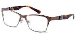 Amadeus Eyewear A972 Eyeglasses in Brown/Gunmetal - $87.99